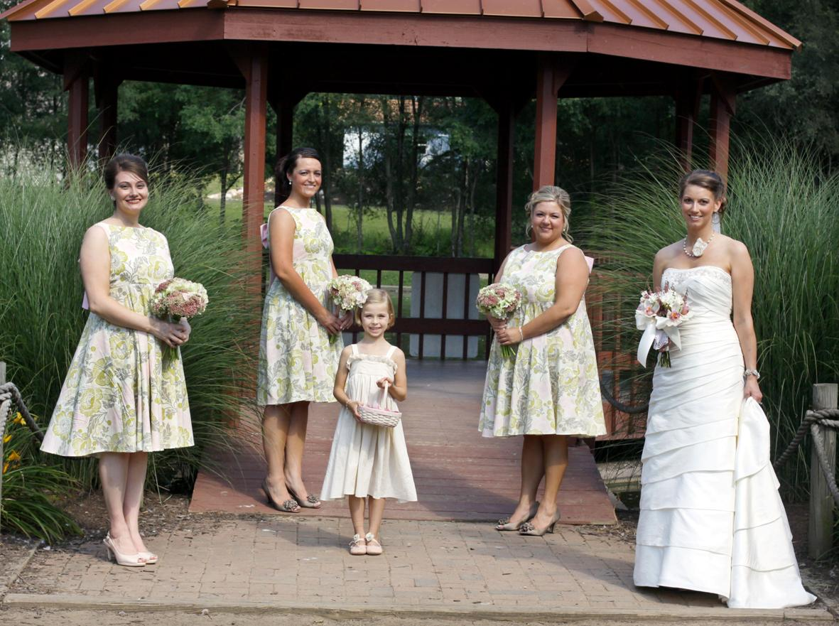 The wedding march amy butlervogue bridesmaid dresses the ombrellifo Images