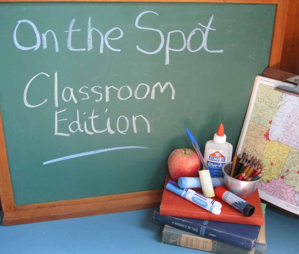 On the Spot Stain Removal: Classroom Edition- How to remove stains from ink, markers, glue, crayons, and pencils using items from your pantry