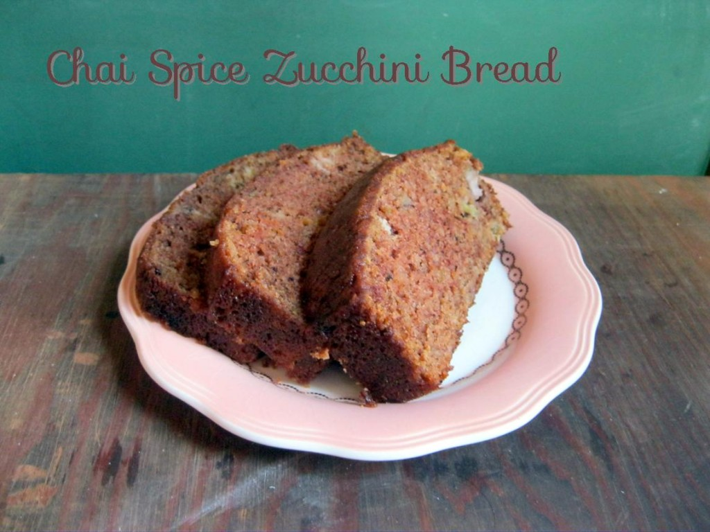 Zucchini carrot banana raisin bread with chai spice from BBT Tips