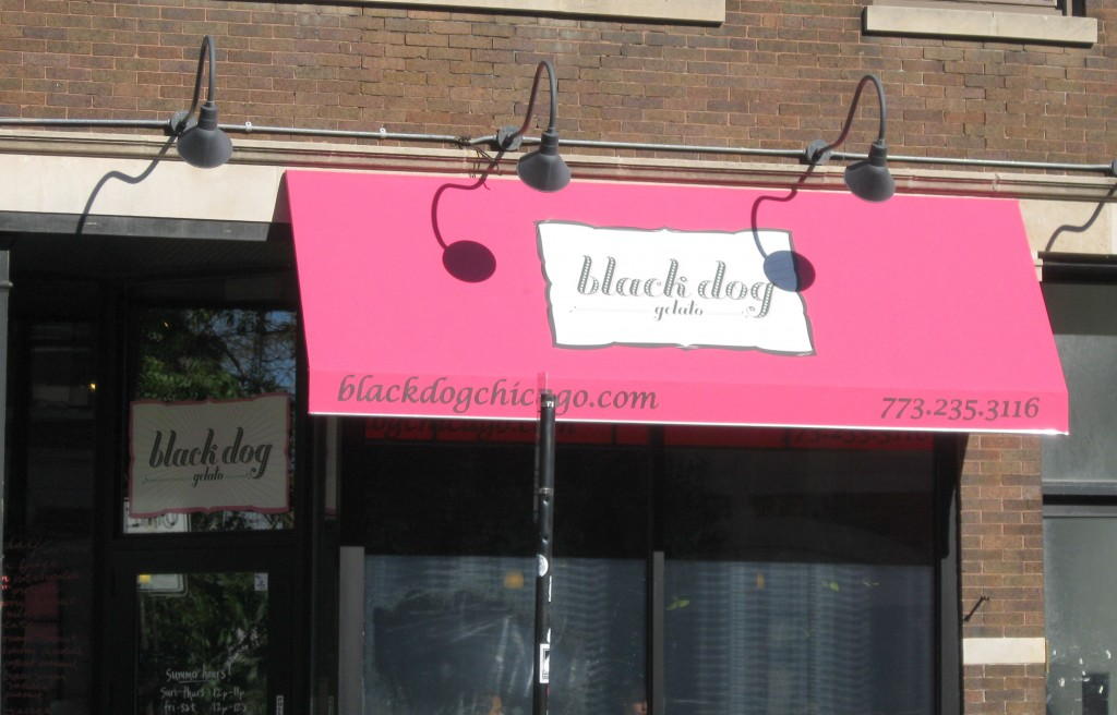 Black Dog Gelato Damen Ave Chicago