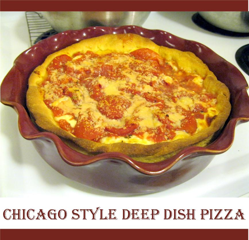 Deep Dish Pizza at Home recipe