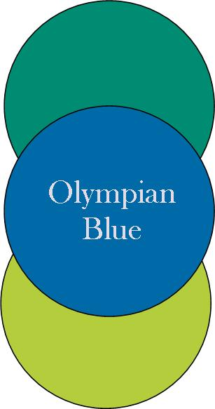Olympian blue, Ultramarien green, and Bright Chartreuse  Fall color combos 2012