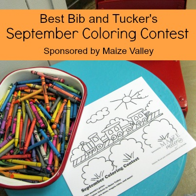 Best Bib and Tucker September Coloring Contest Maize Valley Farm