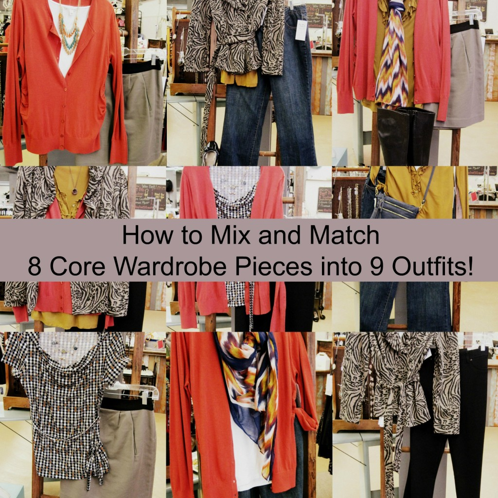 How to mix and match wardrobe