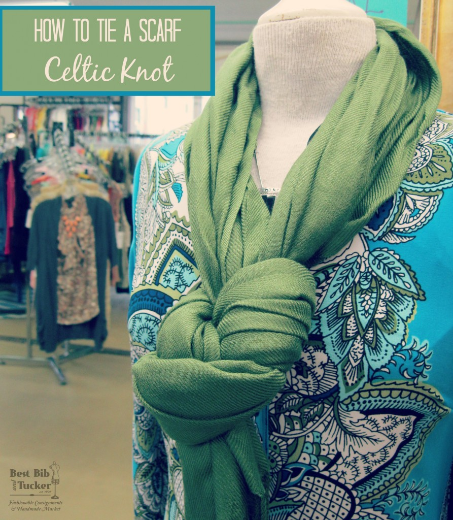 How to tie a scarf in a Celtic Knot
