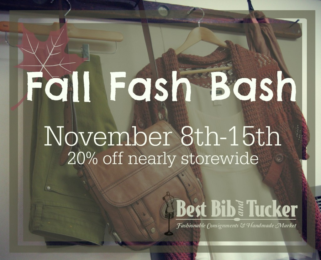 Fall Fash Bash online graphic