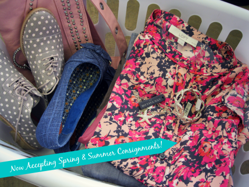 spring & Summer consignments small