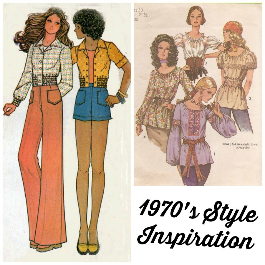 70's patterns- style inspiration