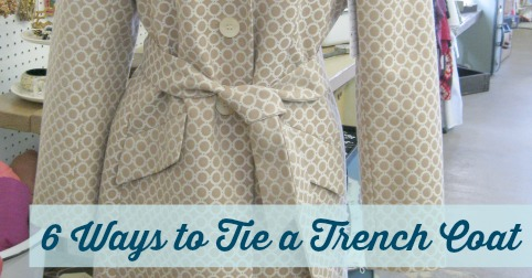 6 Ways to Tie a Trench Coat