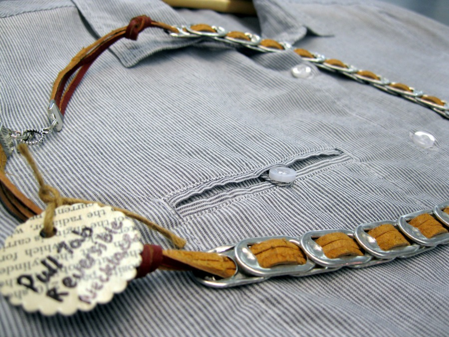 Janet Bandy handmade recycled jewelry