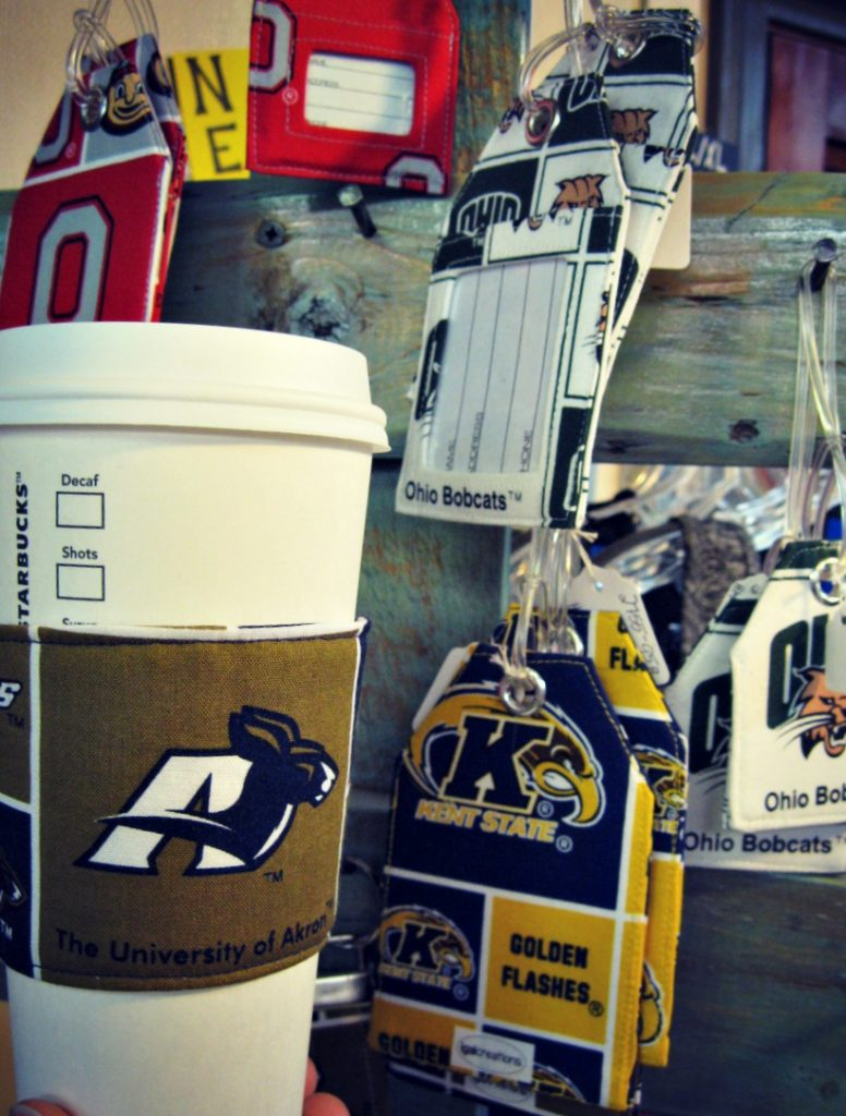 igal-creations-collegiate-coffee-cozies-and-luggage-tags
