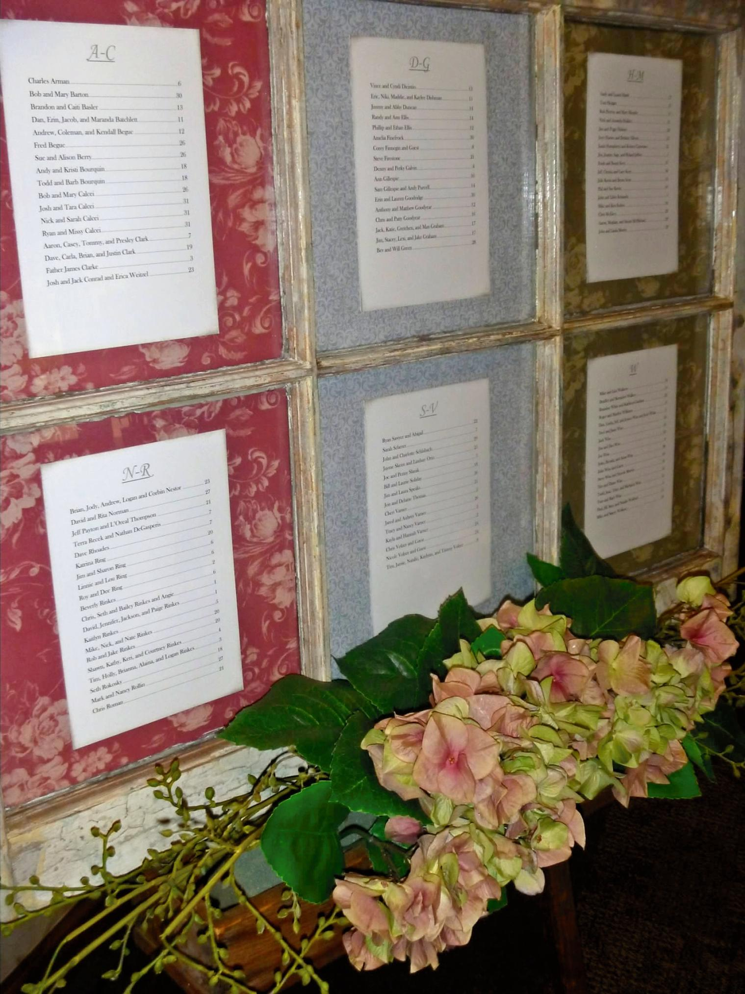The Wedding March Window Panes And Other Signs Best Bib And Tucker