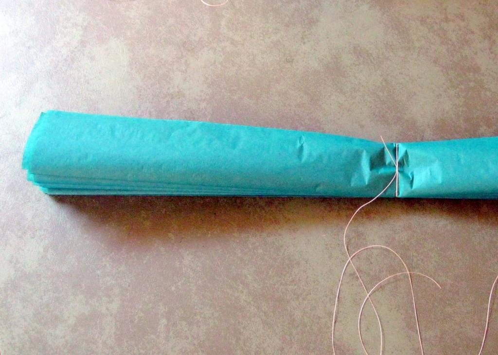 tissue paper pom poms 4-1