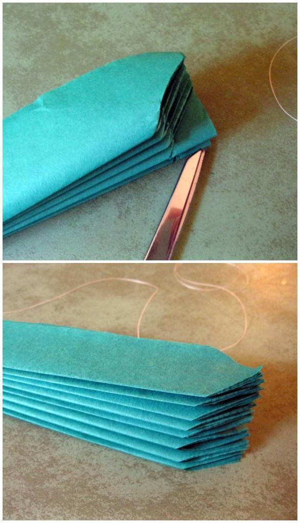 tissue paper pom poms 5