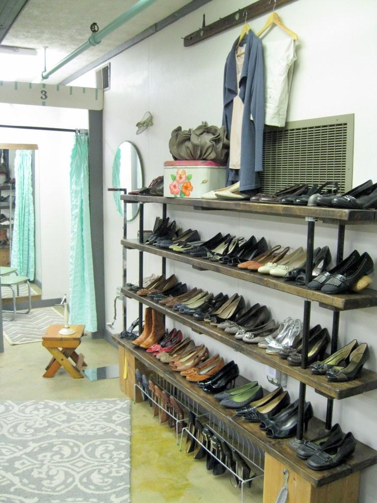 Best Bib and Tucker Pipe shelves for shoe