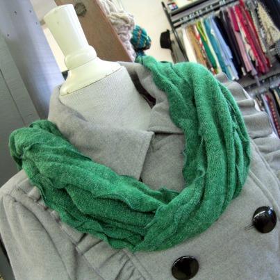 hidden knot scarf tie step 2