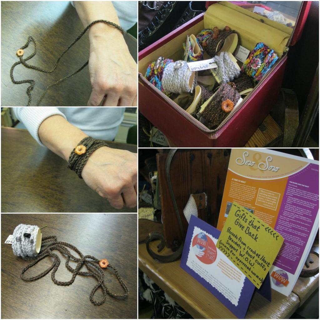 crochet wrap bracelets