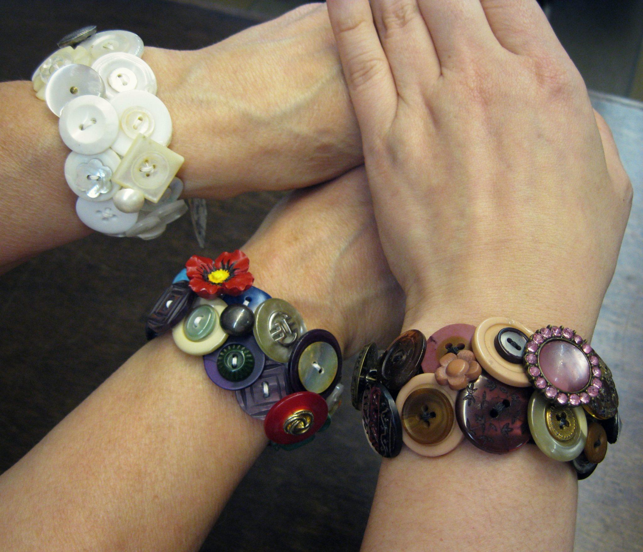 button bracelets 2