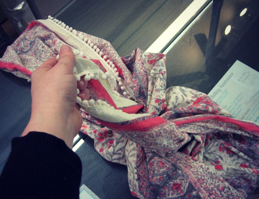 crisscross knot step 2